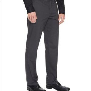 Dockers Straight Fit Black Pinstripe Pants 40 x 32
